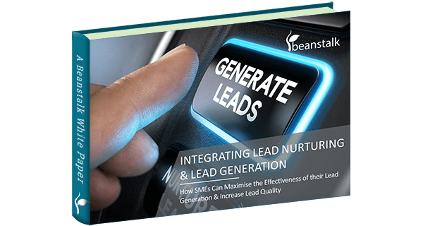 Integrating Lead Gen & Lead Nurturing Cover