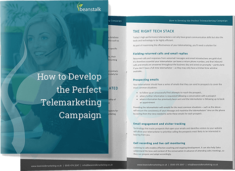 Front Cover of How to Develop the Perfect Telemarketing Campaign